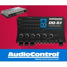 AudioControl DQ-61 - 6 channel line out converter with signal delay and eq
