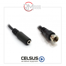 """Celsus Adaptor  3.5MM JACK TO """"F"""" ANC7132020"""