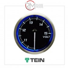DEFI 60MM RACER VOLT GAUGE N2 BLUE DF17101