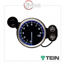 DEFI 80MM RACER GAUGE N2 9000RPM TACHOMETER BLUE DF17201