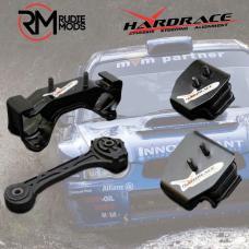 Hardened Engine Mount To Fit Subaru Impreza GC / GD 4Pc HARDRACE 5838