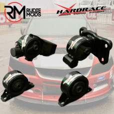 4PC Engine Mounts To Fit MITSUBISHI LANCER VIRAGE 1.8 97-00 HARDRACE 5829