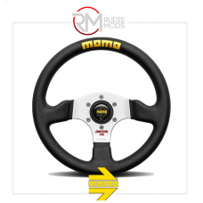MOMO COMPETITION EVO STEERING WHEEL - BLACK LEATHER Ø320mm VCOMPEVO32BKL