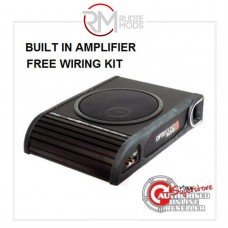 """Vibe Optisound Amplified Active underseat car subwoofer 8"""" 300w RMS Built in amp"""