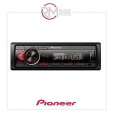 Pioneer 1-DIN receiver with DAB/DAB+, Red illumination, USB and Android compatible MVH-130DAB MVH-130DAB