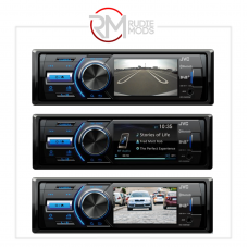 """JVC 1DIN, Mechless, Multimedia system with bright 3"""" LCD display KD-X561DBT"""