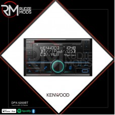 Kenwood Car CD Player with Tuner Dual Din / USB DPX-5200BT Authorized KENWOOD Retailer