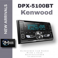 Kenwood DPX-5100BT Handsfree Car Radio With 2 Year Manufacturer Guarantee New