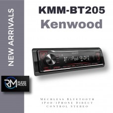 Kenwood KMM-BT205 Mechless Bluetooth iPod/iPhone Direct Control Stereo UK Stock