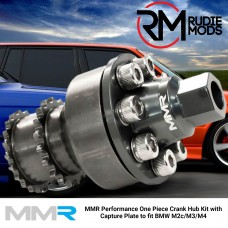 MMR Performance One Piece Crank Hub Kit with Capture Plate to fit BMW M2C / M3 / M4
