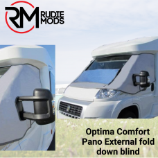 Optima Confort Line Pana External Fold-Down Blind for Renault Traffic 2001-2014