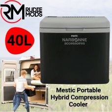 Mestic Portable Hybrid Compression Cooler 40L