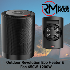 Outdoor Revolution Eco Heater/Fan 650W-1200W