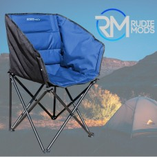 Outdoor Revolution Camping Tub Chair Navy Blue