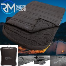 Outdoor Revolution Starfall King 400 Double  Sleeping Bag (INCLUDING 2 FLANNEL PILLOW CASES)