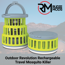 Outdoor Revolution Rechargeable Travel Mosquito Killer