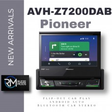 """Pioneer AVH-Z7200DAB 7"""" Flip-Out Car Play Android Auto Bluetooth Car Stereo"""