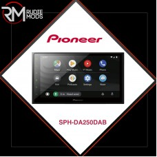 Official Pioneer Mechless Double DIN Stereo System With Capacitive Touch-screen SPH-DA250DAB