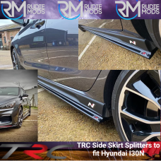 TRC Side Skirt Splitters to fit Hyundai I30N