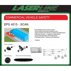 Laserline EPS4015-SCAN Left turn and cyclist Side Scan Sensor Detector Kit