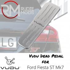 VUDU Dead Pedal - Mk7 / Mk8 Ford Fiesta