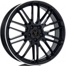 """Wolfrace Eurosport KiboX 9.5x21"""" Alloy Wheels Black"""
