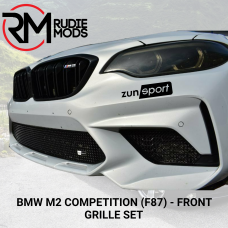 Zunsport Front grille set to fit BMW M2 COMPETITION (F87) ZBM83519B