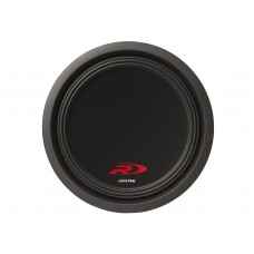 "Alpine SWR T12 Thin 12"" 4-ohm Shallow-Mount Subwoofer"