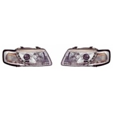 Audi A3 96-01 chrome R8 Devil eye headlights