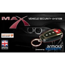 Armour Max Thatcham Cat1 Car Alarm Ultrasonics and Siren