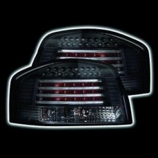 Audi A3 3 door 2003 on black LED lexus style tailights