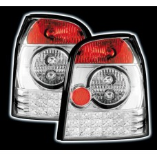 Audi A4 B5 95-00 avant estate chrome LED rear tailights