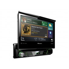 "Pioneer AVH-X7700BT Car DVD CD BlueTooth IPOD USB 7"" Flip Out Screen"