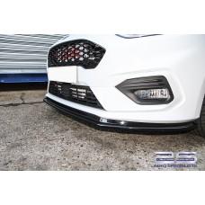 AutoSpecialists Design Front Splitter for Fiesta Mk8 1.0 EcoBoost & Mk8 ST200 ASDFO10