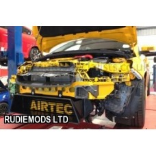 AIRTEC Ford Focus Mk3 ST250 2012 on Uprated Intercooler with air scoop BLACK