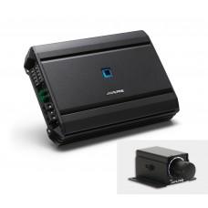 Alpine S-A55V 5 Channel Power Car Amplifier - 4x60W+1x300W Inc Bass Controller