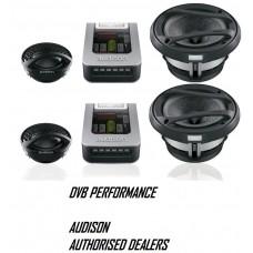 "Audison Voce AV K5 5.25"" 13cm 2-Way Component Car Stereo Speakers 100w RMS"