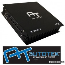 Autotek ATX1000.2 Car Audio Amplifier 2 x 500w or 1 x 1000w
