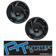 "AUTOTEK ATX5.25CX Car 5.25"" 13cm 2 Way Coaxial Speakers 250w 1 Pair"