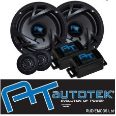 "AUTOTEK ATX6.2C Car 6.5"" 17cm 2 Way Component Speakers 800w 1 Pa"