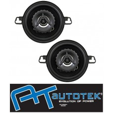 "AUTOTEK ATX35CX 3.5"" Car 2 Way Coaxial Speakers 200w 1 Pair"