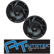 "AUTOTEK ATX6.5CX 6.5"" 17cm Car 2 Way Coaxial Speakers 800w 1 Pai"
