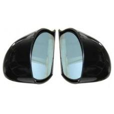 Black DTM Style Mirrors Electric-BLDTMELEC