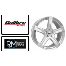 "Calibre Tourer 18"" Alloys to Fit VW Transporter T5 10-15 in Silver New In"