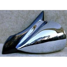Chrome DTM Style Mirrors Electric-CHDTMELE