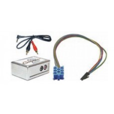 Connects 2 CTVPGX010 Aux to Peugeot Aux Interface