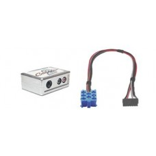 Connects 2 CTVRNX001 Aux to Renault Aux Interface