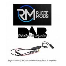 Celsus AN3023DAB Digital Radio (DAB) & AM/FM Active Splitter & Amplifier
