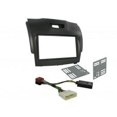 Connects2 CTKCV08 Chevrolet Trailblazer 12 on Double Din Stereo Fitting Kit GREY