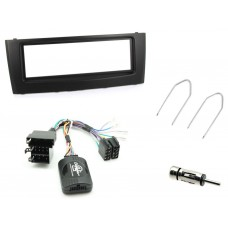 Connects2 CTKFT06 Fiat Punto 05 - 10 Single Din Car Stereo Fitting Kit - Black